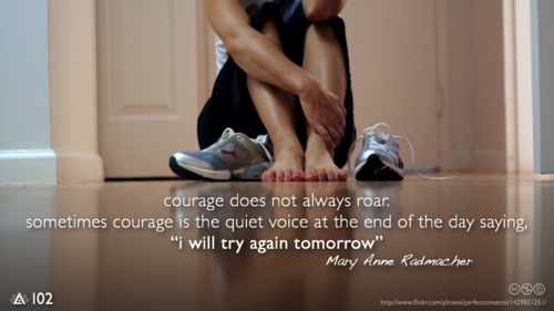 real courage - 2